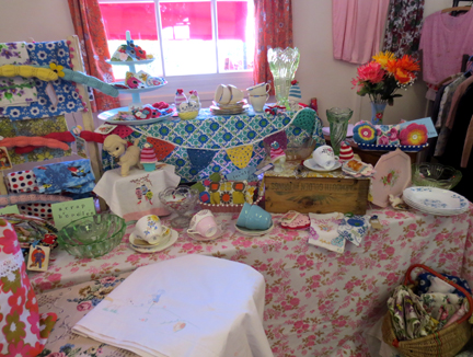 Bobobun Stall at Little Vintage Lover Fair