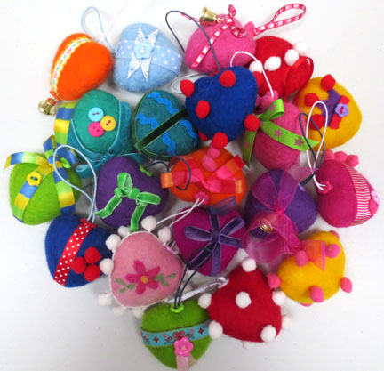 tree decorations for Christmas Fair