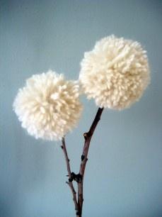 Pompom twig
