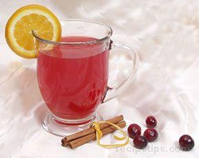 Cranberry tea Christmas Countdown
