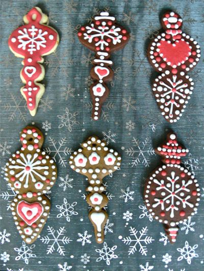 decorated biscuits Christmas Countdown