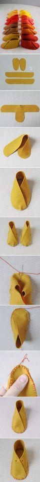 Baby Shoes Long Pin