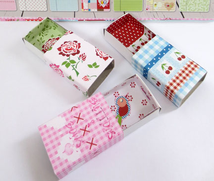Covered Matchboxes
