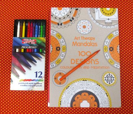 Art Therapy Mandala Colouring Book