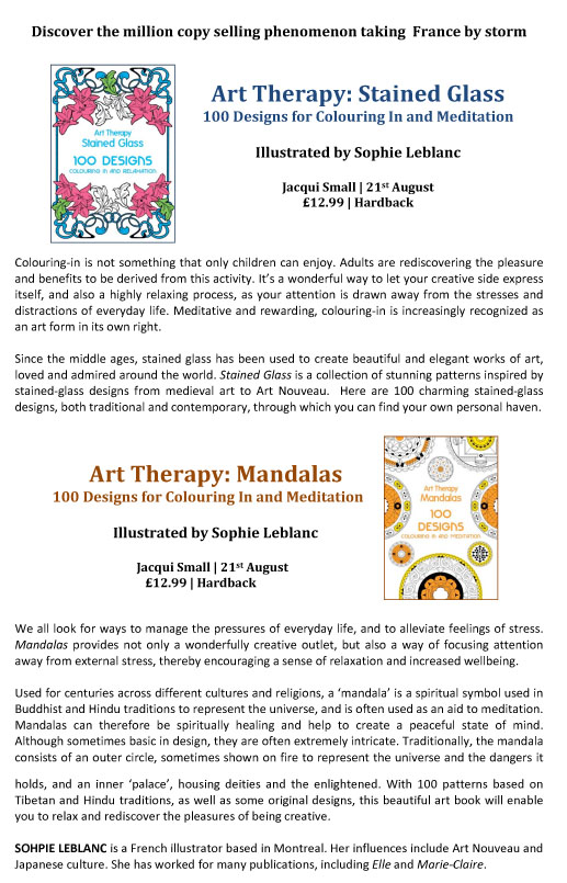 Art Therapy Press Release