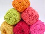 6 Balls Sunshine shades Cotton yarn