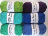 6 balls Shadows shades cotton yarn
