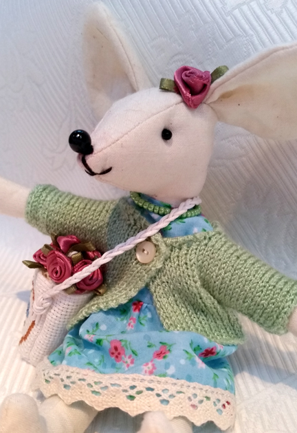 Miranda Mouse - raising funds for Comic Relief 2015