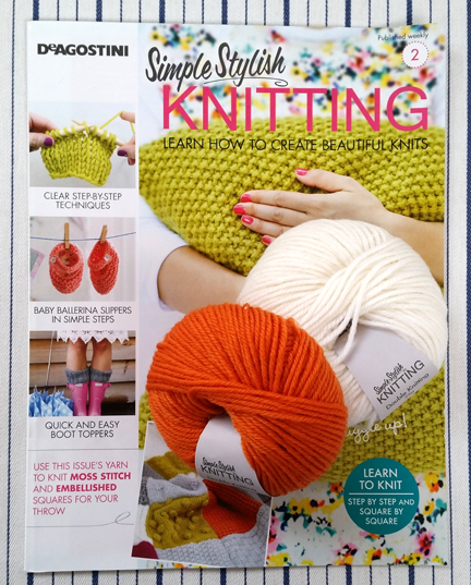 Simple Stylish Knitting Cover 2