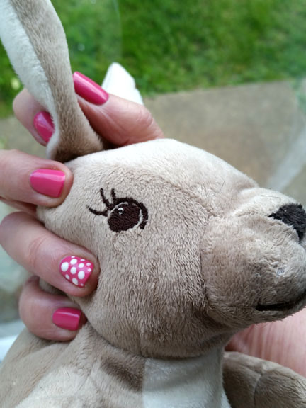 Easter manicure for Happy Friday