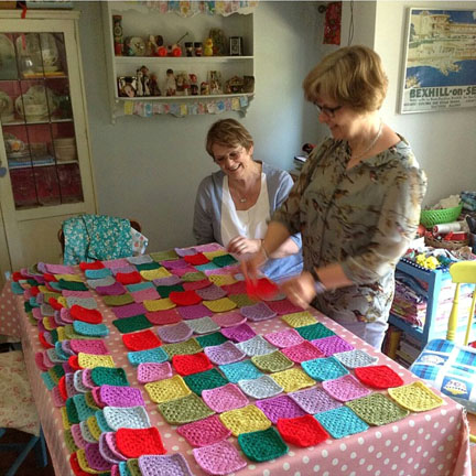 Blanket design for Happy Friday