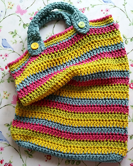 crochet bag DMC XL yarn
