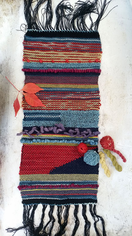 weaving workshop with Aviva Leigh