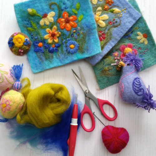 Needlefelt workshops