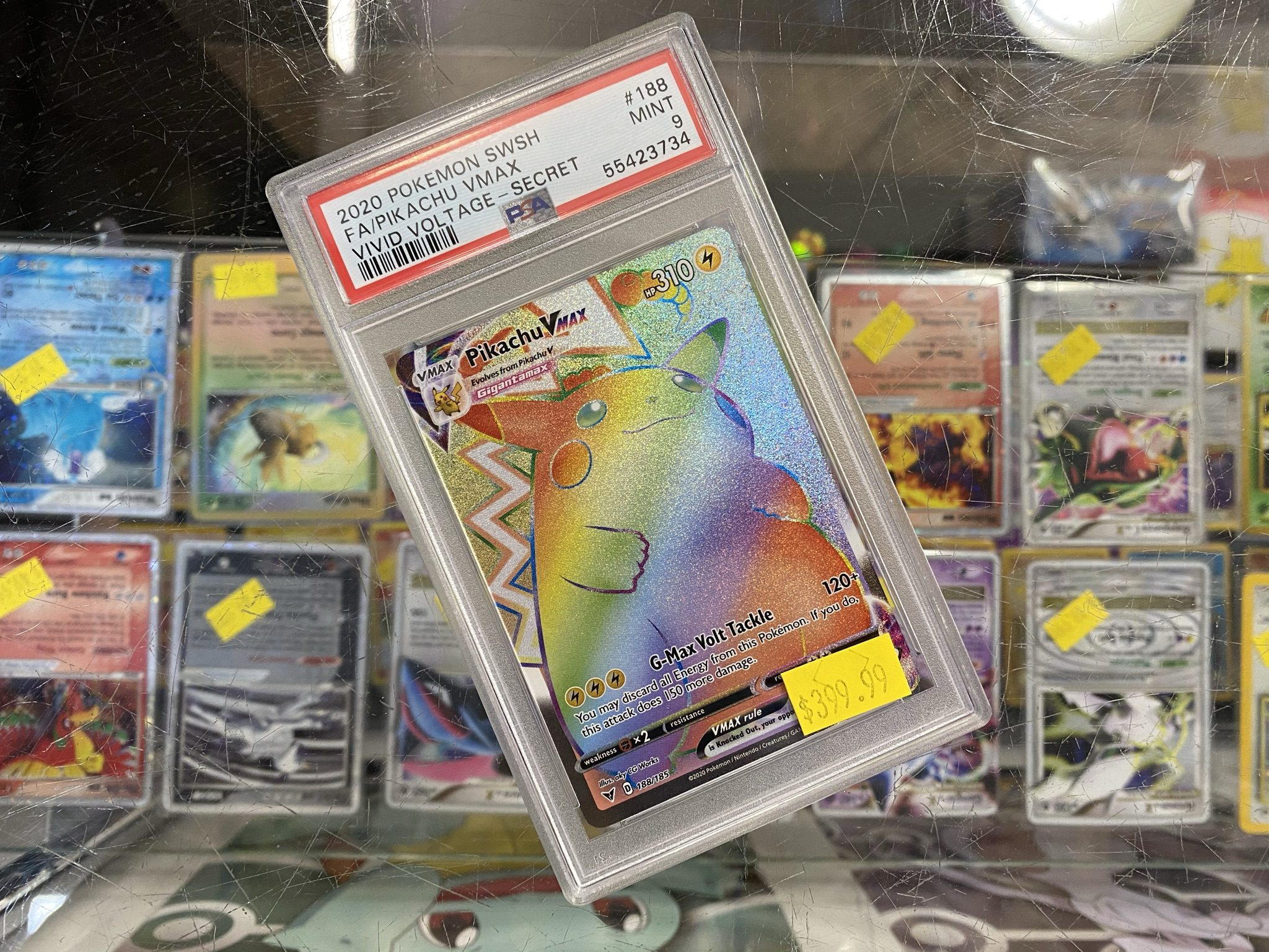 Thousands of Pokemon Singles Available in our in store location – Jay St Videogames in Crossgates Mall