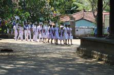 Those pesky white school uniforms again