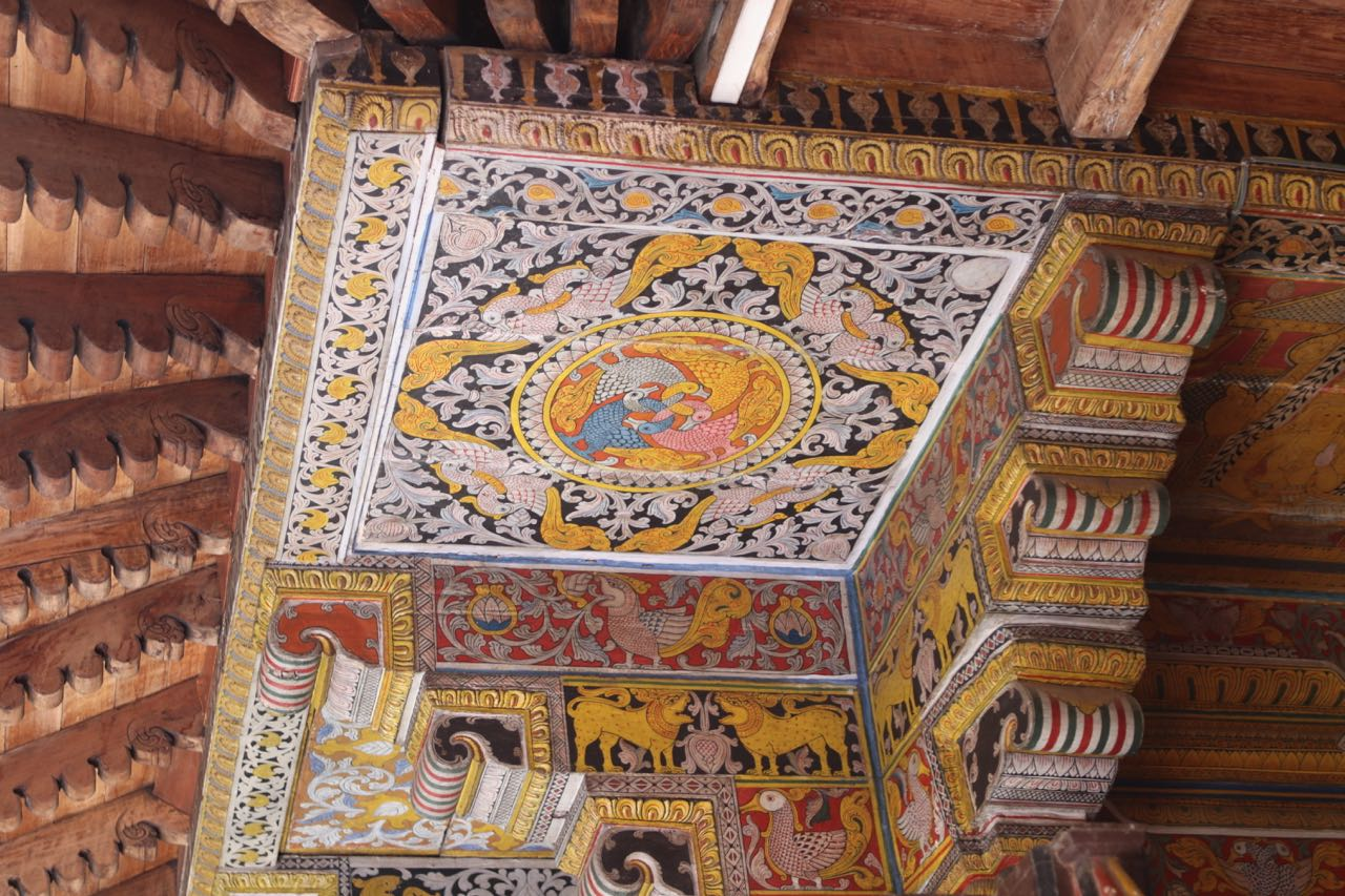 Ceiling of Temple of the Tooth