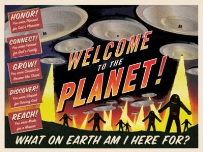welcome to planet