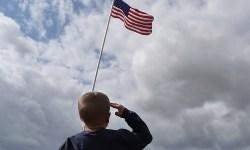 salute flag