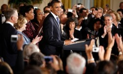 Obama Speaks At Hate Crimes Prevention Act Enactment