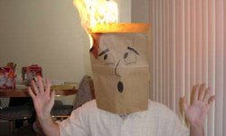 PaperBagFire