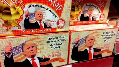 Trump Russian sugar-cubes