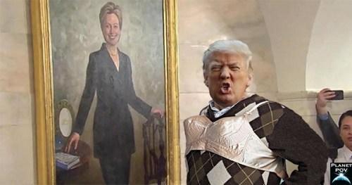 Trump bra