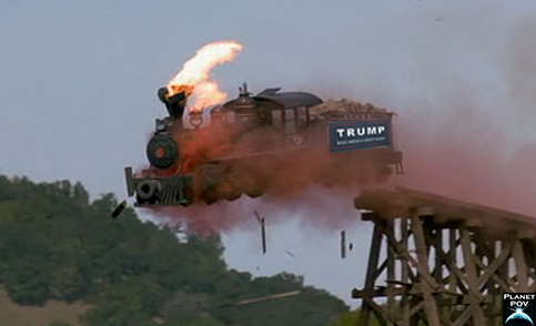 Trump Train Crash
