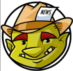 THE NEWS GNOME: Mascot for All who Believe in Fact Based, Civil, Discourse!