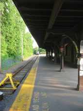 A temporary station will be built about a quarter mile south of the existing Dinky station.