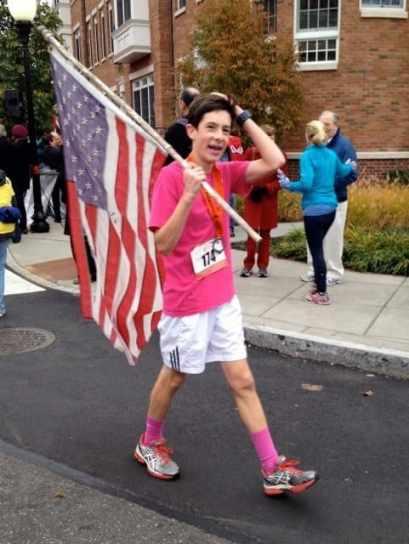 Patriotism on display.