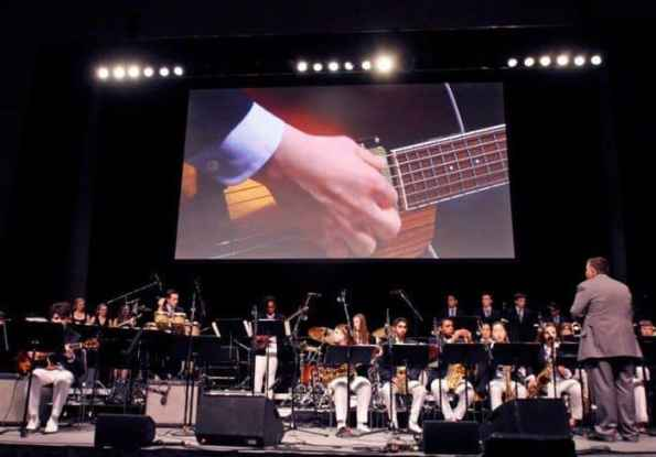 The Princeton High studio band took first place for the fifth consecutive year at the Berklee Jazz Festival this weekend.