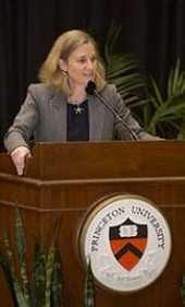 Photo of Mollie Marcoux courtesy of the Princeton University Department of Communications.