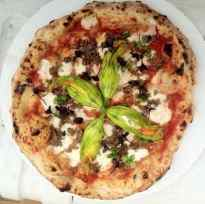 One of  the Fired Up Flatbread Company's creations.