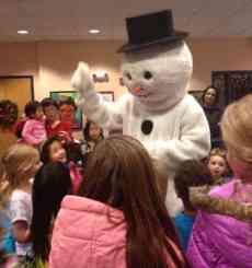 frosty snowman Montgomery