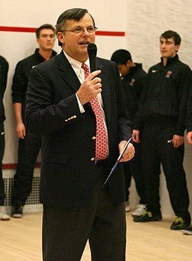 Bob Callahan. Photo by Beverly Schaefer courtesy of Princeton University Athletic Communications.