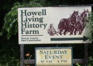Howell Living Hiatory Farm Sign