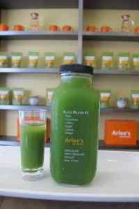 kale juice Arlee's blends