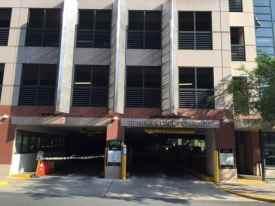 The municipal garage on Spring Street in downtown Princeton.