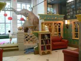 Cotsen library Princeton