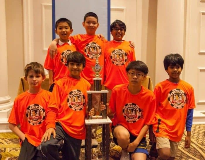 Princeton Day School chess tam champs