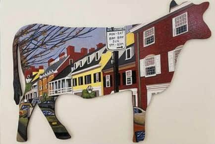 Cows in Our Town public art project to launch in Princeton Dec. 20