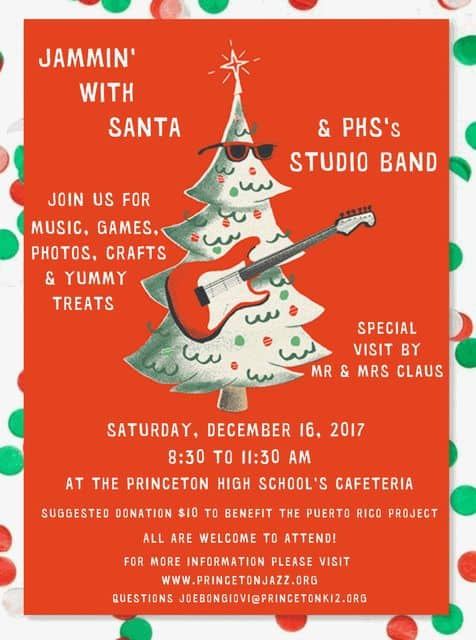 Princeton High School Studio Band concert project will support students from Puerto Rico