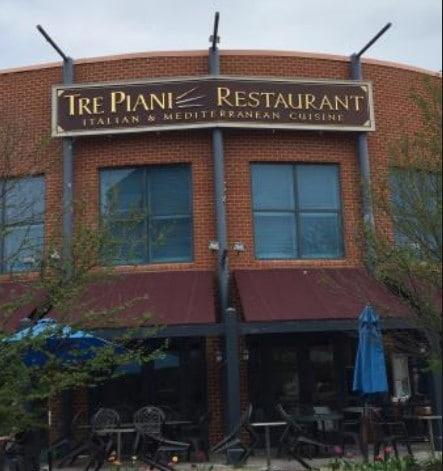 Tre Piani restaurant closes