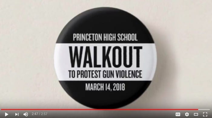 Thousands of area students will walk out of school today to protest gun violence
