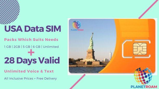 USA Data SIM Card