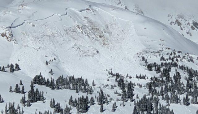 Loveland avalanche, c/o Colorado Avalanche Information Centre