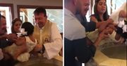 "Savage: Little Girl Calls Priest A ""Puto"" While Being Baptized!"