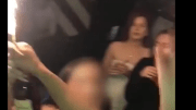Savage: Guy Snatches The Fire Lit Henny From The Bartender & Gets The Party Started!