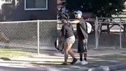 Horrible: Woman Gets Smacked Around By A Man In Broad Daylight!